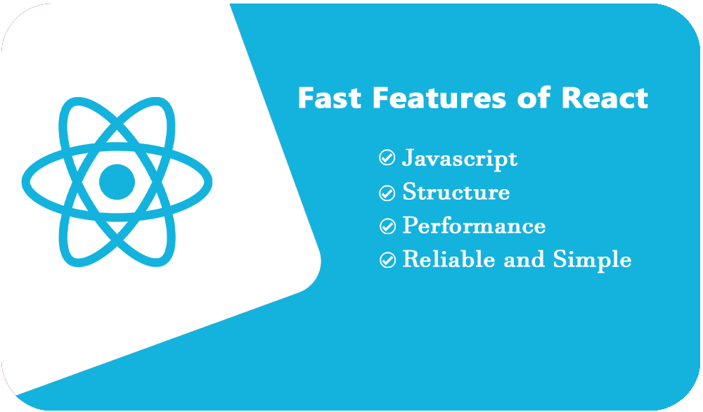 fast features of react in angular v/s react