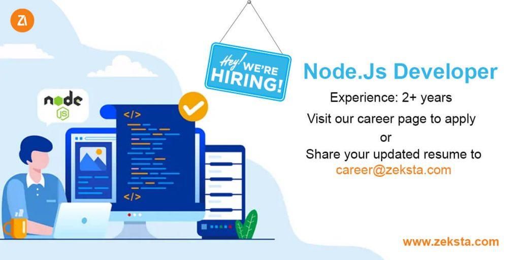 hiring node js developer