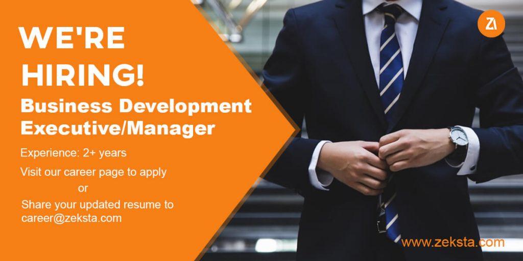 Business development executive job opening