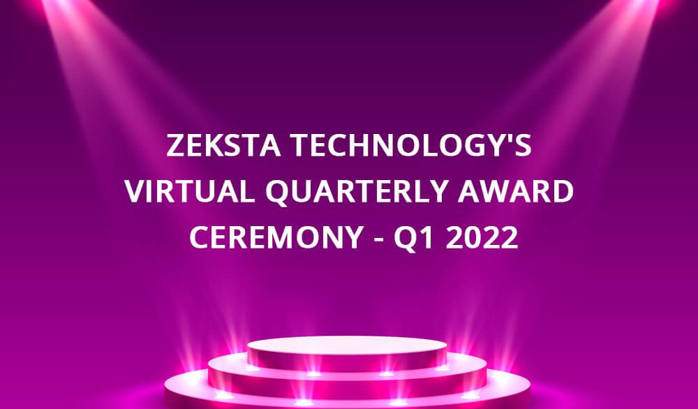 zeksta quarterly award ceremony